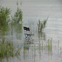 Stühle im Forggensee